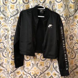 NWOT Nike Air Satin Track Crop Jacket